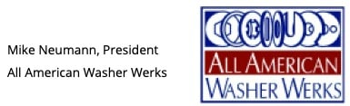 Mike Neumann, President, All American Washer Werks