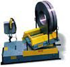 Rotating Table for steel coil processing - Colt Automation