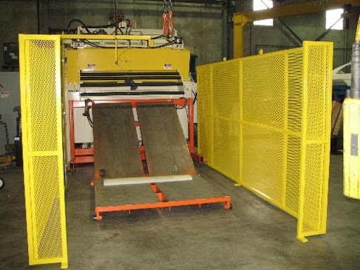 Threading table by Colt Automation for steel coil processing AHSS, Gen 3, HSLA, High Strength Steel, Class A, Aluminum, Mild Steel, Cold-rolled metal coil, hot-rolled steel coil, alloy steel, galvanized