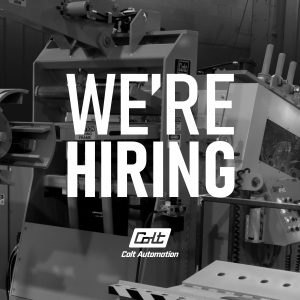 We Are Hiring at Colt