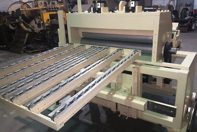 Colt Automation threading table and straightener for steel coil processing