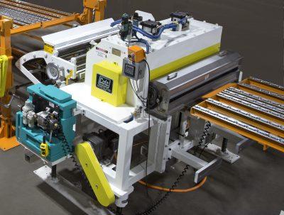 Colt Lubricator on automated steel Feeder, threading table
