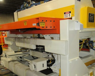 Colt Automation, automated Feeder for metal coils. Solid, quality construction for steel part manufacturers.